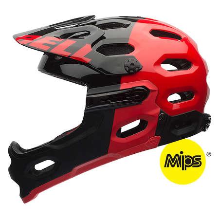 picture Super 2R MIPS Downhill Fietshelm Zwart/Rood