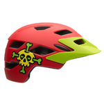 Bell Sidetrack Child MTB Fietshelm Mat Rood