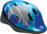 Bellino Youth Fietshelm Blauw Safari