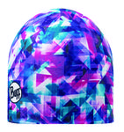 Buff Micro Polar Hat Buff Flected Roze/Blauw