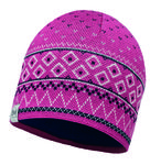 Buff Knitted & Polar Buff Hat Edna Paars