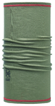 Buff 3/4 Merino Wool Buff  Solid Groen