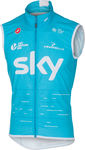 Castelli Team Sky Pro Light Windvest Blauw