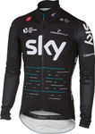 Castelli Team Sky Pro Fit Light Regenjack Zwart