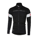 Castelli Transition Fietsjack Zwart/Wit Heren