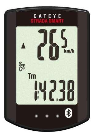Cateye Strada Smart RD500B Fietscomputer Draadloos Zwart