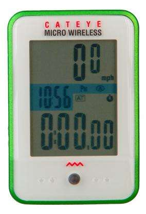 picture Micro Wireless MC200W Fietscomputer Draadloos Groen