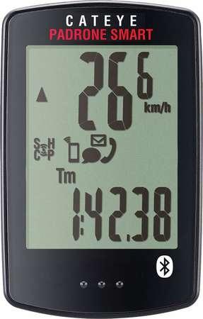 picture Padrone Smart CC-PA500B Draadloze Bluetooth Fietscomputer Zwart