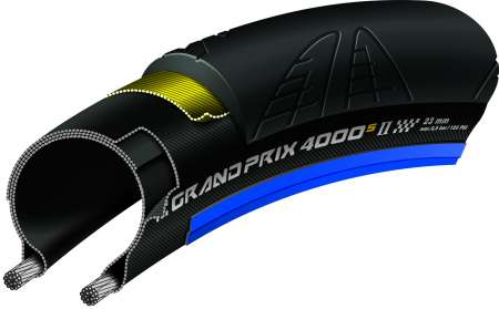 picture Grand Prix 4000 S II Race Vouwband 700x23c