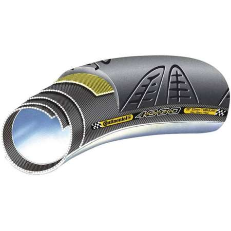 Continental Grand Prix 4000 S II Race Tube Zwart 700x22C