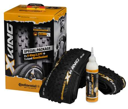 picture X-King Protection 2.2 MTB Vouwbanden Set incl Sealant