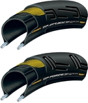 Continental Grand Prix Attack & Force Race Vouwbanden Set 700x23/25C