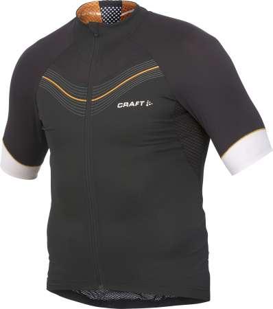 picture Elite Fietsshirt Korte Mouwen Zwart/Oranje Heren