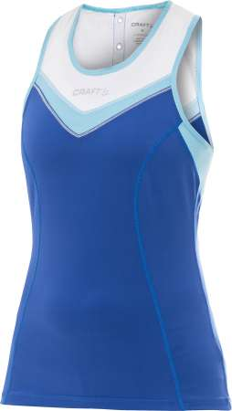 picture Active Bike Singlet Blauw/Wit Dames