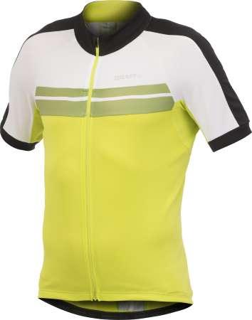 picture Active Bike Classic Fietsshirt Korte Mouwen Geel/Wit/Zwart Heren