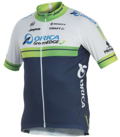 picture Orica-Greenedge Replica Fietsshirt 2014