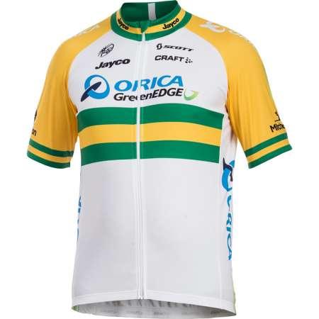 picture Orica-Greenedge Australische Kampioen Replica Fietsshirt 2014