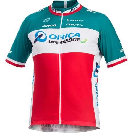 picture Orica-Greenedge Italiaanse Kampioen Replica Fietsshirt 2014