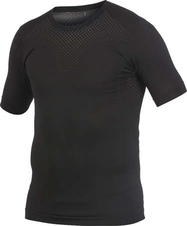 Craft Stay Cool Seamless Ondershirt Korte Mouwen Zwart Heren