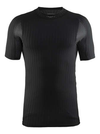 Craft Be Active Extreme 2.0 CN Ondershirt Korte Mouwen Zwart Heren