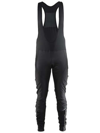 picture Velo Thermal Wind Fietsbroek Lang Met Bretels en Zeem Zwart Heren