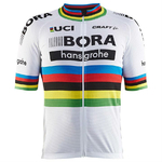 Craft Bora Hansgrohe Replica Fietsshirt World Champion Korte Mouwen