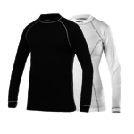 Craft Be Active Ondershirt Lange Mouwen Zwart/Wit Dames 2-Pack