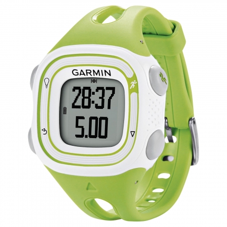 Garmin Forerunner 10 Green & White