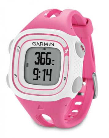 Garmin Forerunner 10 Pink & White