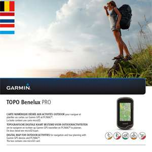 Garmin TOPO Benelux Pro