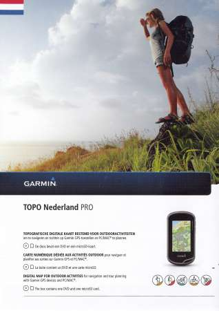 Garmin Topo Nederland Pro DVD & microSD