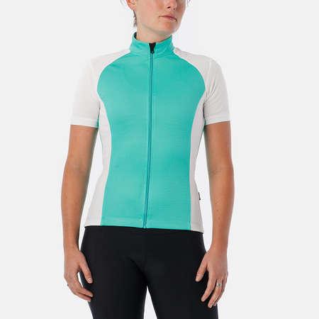 picture Chrono Sport Fietsshirt Korte Mouwen Turquoise/Wit Dames