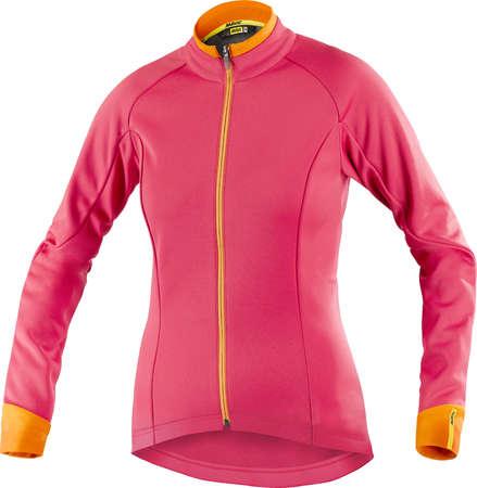 picture Aksium Thermo Fietsjack Roze/Oranje Dames