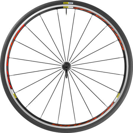 picture Ksyrium Clincher Race Wielset met 25mm Band Rood