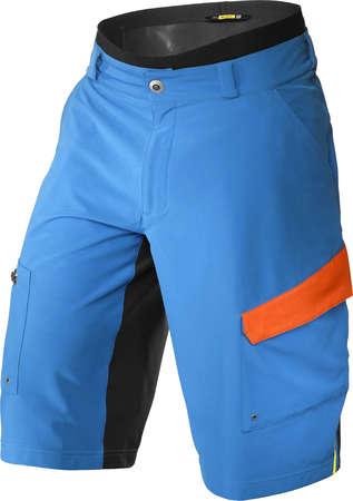 picture Crossmax Pro Trail Fietsbroek Kort Blauw/Oranje Heren