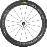 Mavic Cosmic Pro Carbon Exalith Race Wielset 25mm Band Zwart