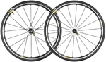 Ksyrium Elite Race Wielset 25mm Band Zwart/Zwart