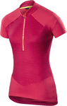 Mavic Sequence Graphic Fietsshirt Korte Mouwen Roze Dames