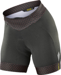 Mavic Sequence Short Graphic Fietsbroek Kort Zwart/Roze Dames