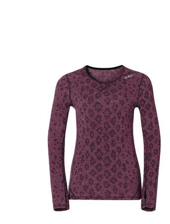 picture Planai Revolution TW Warm Ondershirt Lange Mouwen Roze/Paars Dames