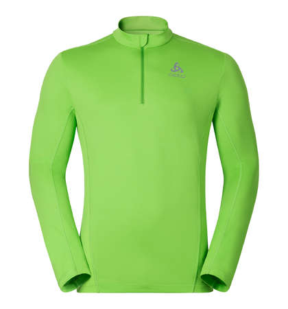 picture Active 1/2 Zip Ondershirt Lange Mouwen Groen Heren