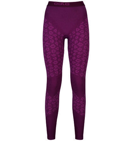 Odlo Blackcomb Evolution Warm Onderbroek Lang Paars Dames