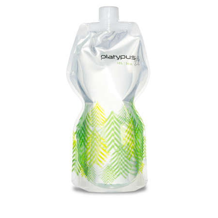 picture Softbottle 1L Closure Cap Groen