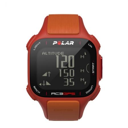Polar RC3 GPS zonder Hartslagmeter Oranje
