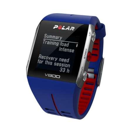 Polar V800 GPS Sporthorloge HRM Blauw/Rood
