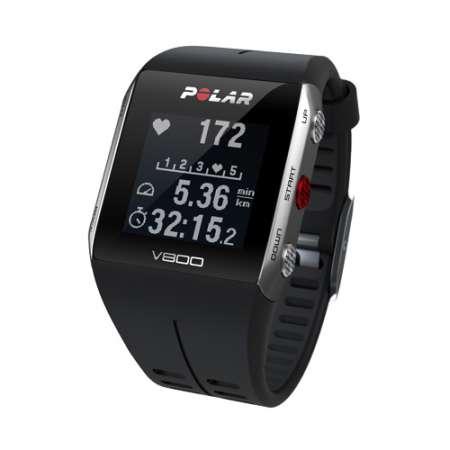 Polar V800 GPS Sporthorloge HRM Zwart/Grijs