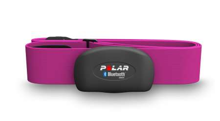 picture H7 Borstband met Bluetooth Roze (set)