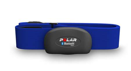 picture H7 Borstband met Bluetooth Blauw (set)