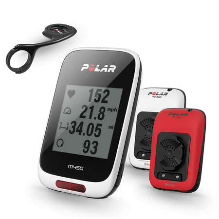 picture M450 HRM Red Special Edition GPS Fietscomputer