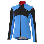 Shimano Thermal Winter Fietsshirt Lange Mouwen Blauw Dames